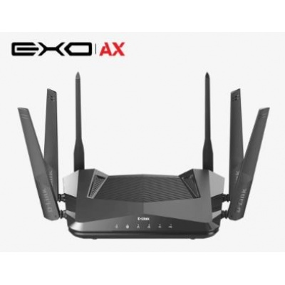 D-Link DIR-X5460 Wireless AX5400 Wi-Fi 6 Router, 4x gigabit RJ45, 1x USB3.0, 1x USB2.0