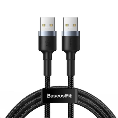 Baseus Cafule Cable USB3.0 Male to USB3.0 Male 2A 1M Dark Gray