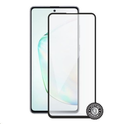 Screenshield ochrana displeje Tempered Glass pro SAMSUNG N770 Galaxy Note 10 Lite, full cover, černá
