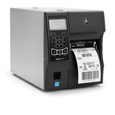"Zebra TT priemyselná tlačiareň ZT410, 4"", 203 dpi, RS232, USB, Bluetooth, Peel w / Liner Take-Up, EZPL"
