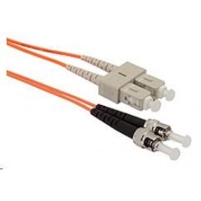 Solarix Patch kabel 50/125 SCupc/STupc MM OM2 5m duplex SXPC-SC/ST-UPC-OM2-5M-D