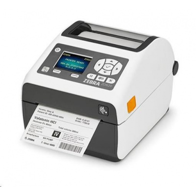 Zebra DT tiskárna etiket ZD620d Healthcare, LCD, 300 dpi, USB, USB Host, Serial, LAN