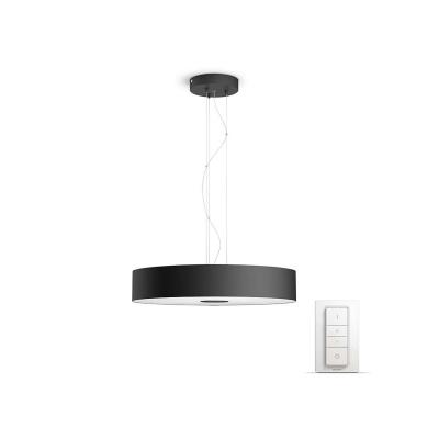 PHILIPS Fair Závěsné svítidlo, Hue White ambiance, 230V, 1x39W integ.LED, Černá, ZB+BT