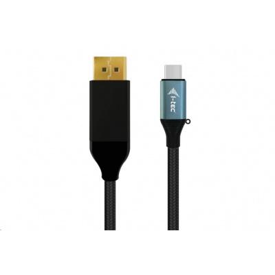 iTec USB-C - DisplayPort kabel adaptér (4K/60 Hz) - 200cm