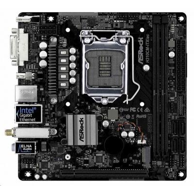 ASRock MB Sc LGA1151 H310CM-ITX/ac, Intel H310, 2xDDR4, HDMI, DP