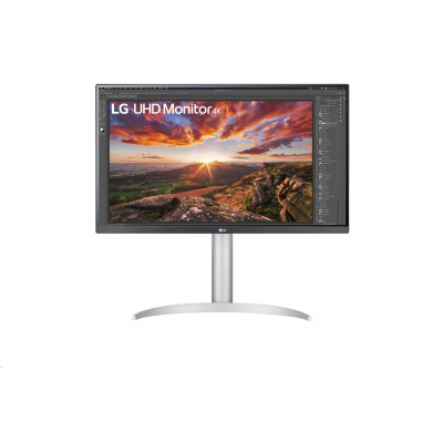 "LG MT IPS LCD LED 27"" 27UP850 - IPS panel, 3840x2160, 2xHDMI, DP, USB-C, pivot, repro"