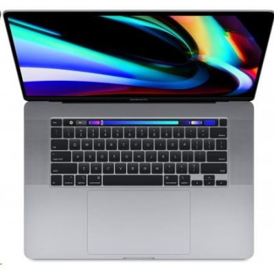 APPLE MacBook Pro 16 Touch Bar/8-core i9 2.3GHz/64GB/1TB SSD/Radeon Pro 5500M w 8GB - Sp.Grey - CZE KB