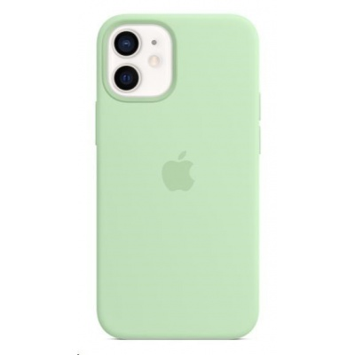 APPLE iPhone 12 mini Silicone Case with MagSafe - Pistachio