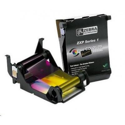 ZEBRA TTR páska ZXP1 YMCKO barevná pro potisk 100 karet