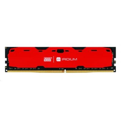 DIMM DDR4 8GB 2400MHz CL15 GOODRAM IRDM, red