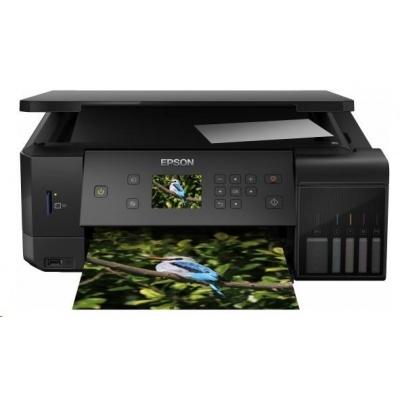 EPSON tiskárna ink EcoTank L7160, 3v1, A4, 32ppm, USB, Ethernet, Wi-Fi (Direct),  LCD, Foto tis., 3 roky záruka po reg.