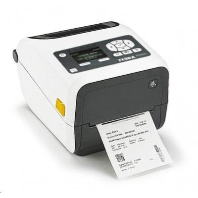 "Zebra TT tiskárna etiketZD620t 4"" LCD, 4"" Healthcare, 300 dpi, BTLE, USB, USB Host, RS232,LAN, WLAN & BT"