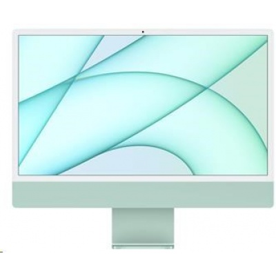 APPLE 24-inch iMac with Retina 4.5K display: M1 chip with 8-core CPU and 7-core GPU, 256GB - Green