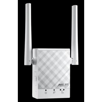 ASUS RP-AC51 Wireless AC750 Dualband Range Extender, AP/repeater přímo do zásuvky, 1x RJ45 10/100