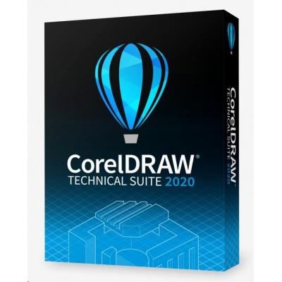 CorelDRAW Technical Suite 2020 ML, EN/DE/FR, BOX