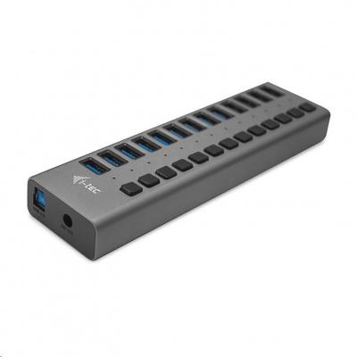 iTec USB 3.0 nabíjecí HUB 13port + Power Adapter 60 W