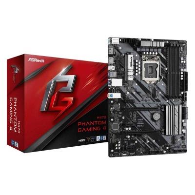ASRock MB Sc LGA1200 H470 Phantom Gaming 4, Intel H470, 4xDDR4, VGA