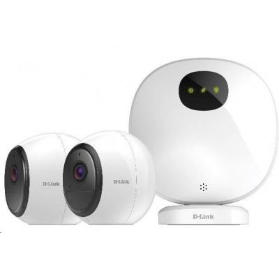 Poškozený obal - D-Link DCS-2802KT mydlink™ Pro Wire-Free Camera Kit, 2x DCS-2800LH + 1x H100, bazar