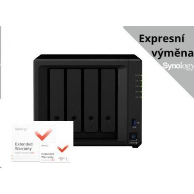 Synology DS920+ DiskStation (4C/CeleronJ4125/2,0-2,7GHz/4GBRAM/4xSATA/2xM.2/2xUSB3.0/1xeSATA/2xGbE) + záruka 5 let