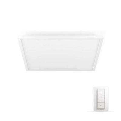 PHILIPS Aurelle Světelný stropní panel, čtverec, Hue White ambiance, 230V, 55W integr.LED, Bílá