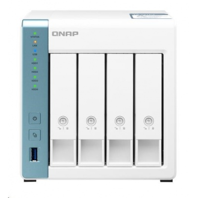 QNAP TS-431P3-2G (4C/AL314/1,7Ghz/2GBRAM/4xSATA/1x2,5GbE/1xGbE/3xUSB3.2)