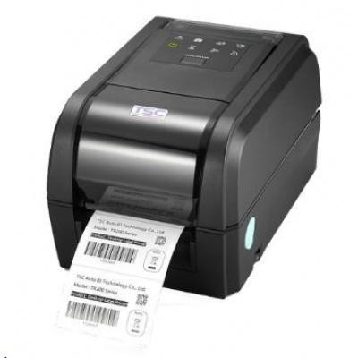 TSC TX200 Stolní TT tiskárna čárových kódů, 203 dpi, 8 ips, USB/RS232/LAN, slot pro BT/WF