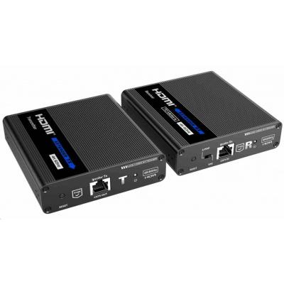 PremiumCord HDMI 2.0 extender Ultra HD 4kx2k@60Hz na 70m přes Cat6/Cat6A/Cat7