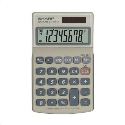 SHARP kalkulačka - EL240SAB - blister