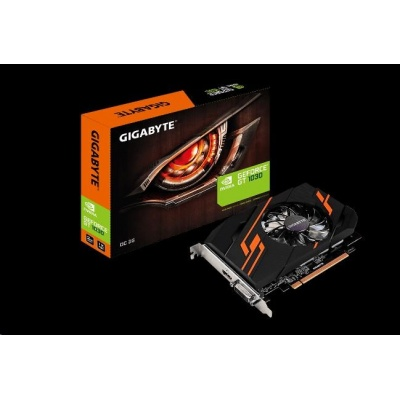 GIGABYTE VGA NVIDIA GeForce GT 1030 OC 2G, 2GB GDDR5 (Overclock), 1xHDMI, 1xDVI-D