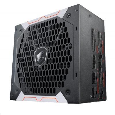 GIGABYTE zdroj AORUS AP850GM, 850W, 80plus gold, modular, 135 mm fan