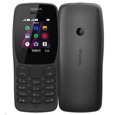 Nokia 110 Dual SIM Black 2019