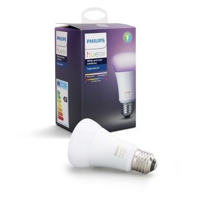 PHILIPS Hue White and Color Ambience, žárovka 10W E27 A60 DIM