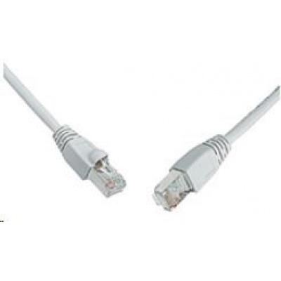 Solarix Patch kabel CAT6 SFTP PVC 7m šedý snag-proof C6-315GY-7MB