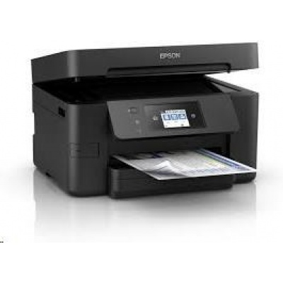 EPSON tiskárna ink WorkForce WF-3720DWF MFZ, 4v1, A4, 20ppm, Ethernet, WiFi (Direct), Duplex, NFC, záruka 3 roky po reg.