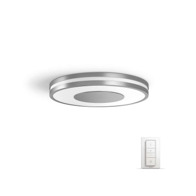 PHILIPS Being Stropní svítidlo, Hue White ambiance, 230V, 1x32W integ.LED, Aluminium