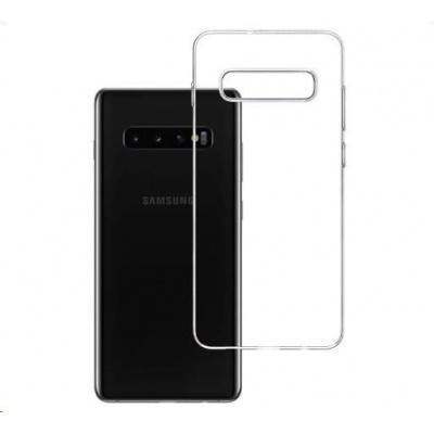 3mk ochranný kryt Clear Case pro Samsung Galaxy S10+ (SM-G975) ,čirý