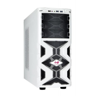 IN WIN skříň Mana 136, Midi Tower, USB 3.0, white, bez zdroje