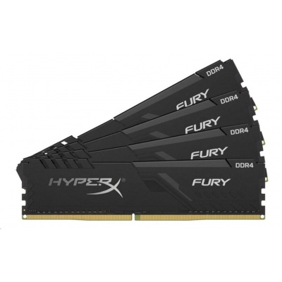 64GB 3600MHz DDR4 CL18 DIMM (Kit of 4) HyperX FURY Black