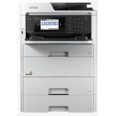 EPSON tiskárna ink WorkForce Pro WF-C579RD2TWF, RIPS, 4v1, A4, 34ppm, Ethernet, WiFi (Direct), Duplex