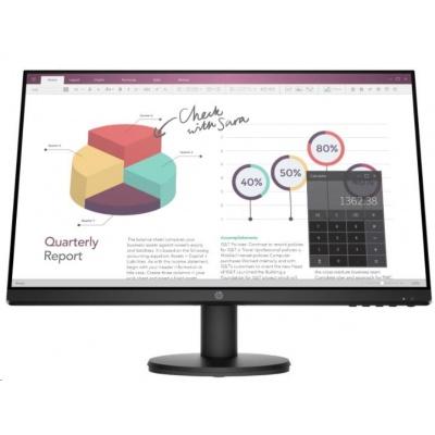 HP LCD ProDisplay P24v G4 23.8 IPS w/LED micro-edge(1920x1080,250,1000:1, 5 ms,VGA, HDMI 1.4,flicker-free, low blue l.)