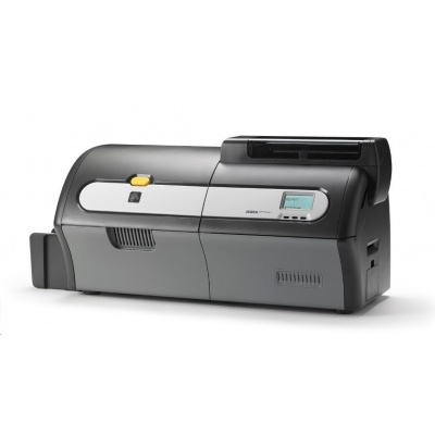 Zebra ZXP Serie 7, single sided, 12 dots/mm (300 dpi), USB, Ethernet, contact, contactless