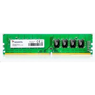 DIMM DDR4 16GB 2400MHz CL17 ADATA Premier memory, 1024x8, Bulk