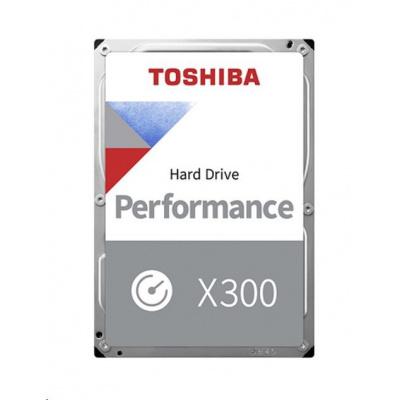 "TOSHIBA HDD X300 8TB, SATA III, 7200 rpm, 256MB cache, 3,5"", RETAIL"