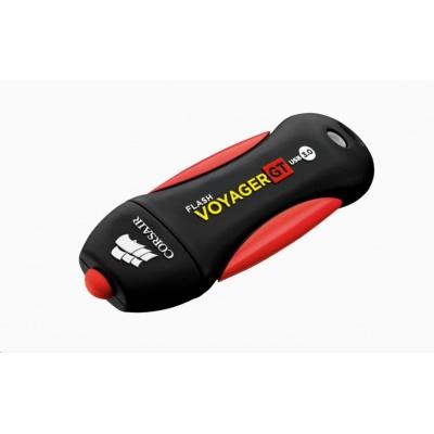 CORSAIR Flash Disk 128GB Voyager GT, USB 3.0, černá/červená