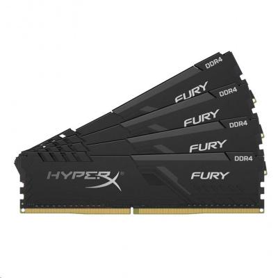 DIMM DDR4 32GB 3000MHz CL15 (Kit of 4) KINGSTON HyperX FURY Black