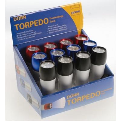 Doerr LED Torpedo - kapesní svítilna (12 ks - mix karton)