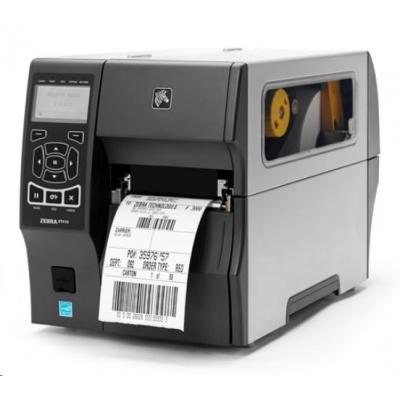 "Zebra TT priemyselná tlačiareň ZT410, 4"", 300 dpi, RS232, USB, Bluetooth, Peel w / Liner Take-Up, EZPL"