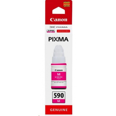 Canon BJ INK GI-590 M (Magenta Ink Bottle) 70ml  7000str
