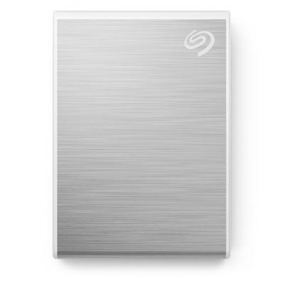 SEAGATE externí SSD One Touch 1TB USB-C, stříbrná