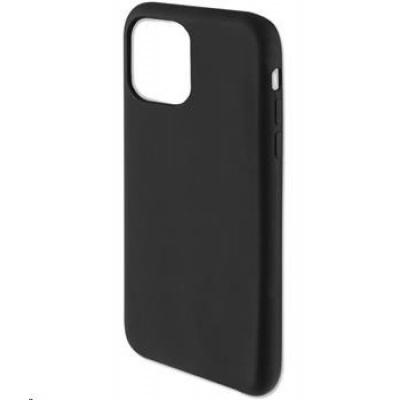 4smarts silikonový kryt CUPERTINO pro Apple iPhone 12 / 12 Pro, černá